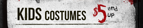 Kids costumes $5 and up