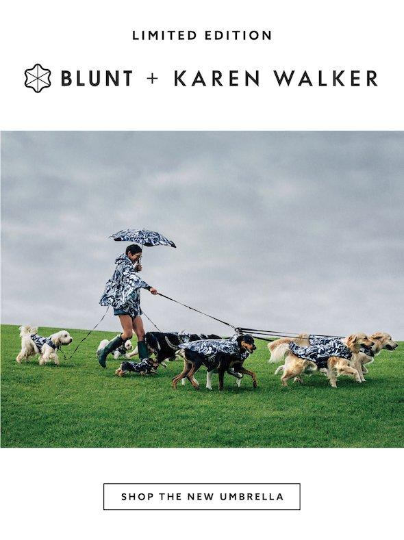 BLUNT + KAREN WALKER