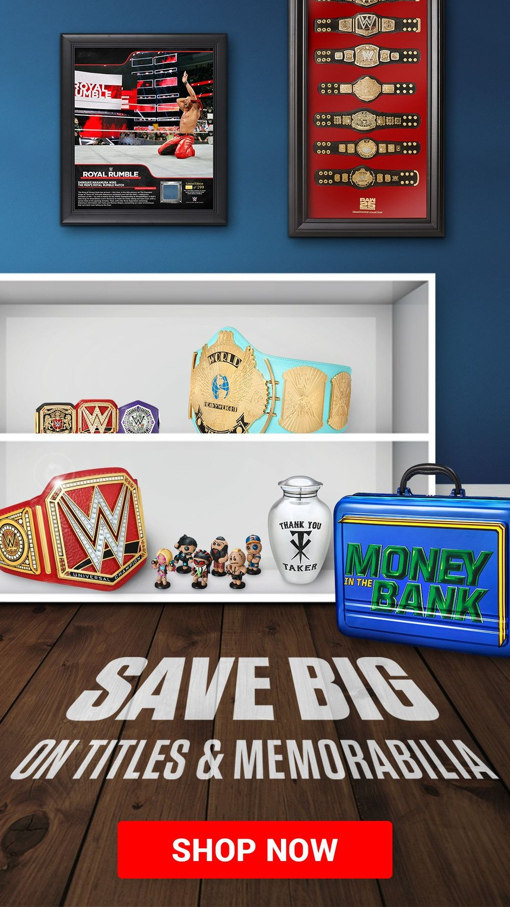 Save BIG on titles & memorabilia