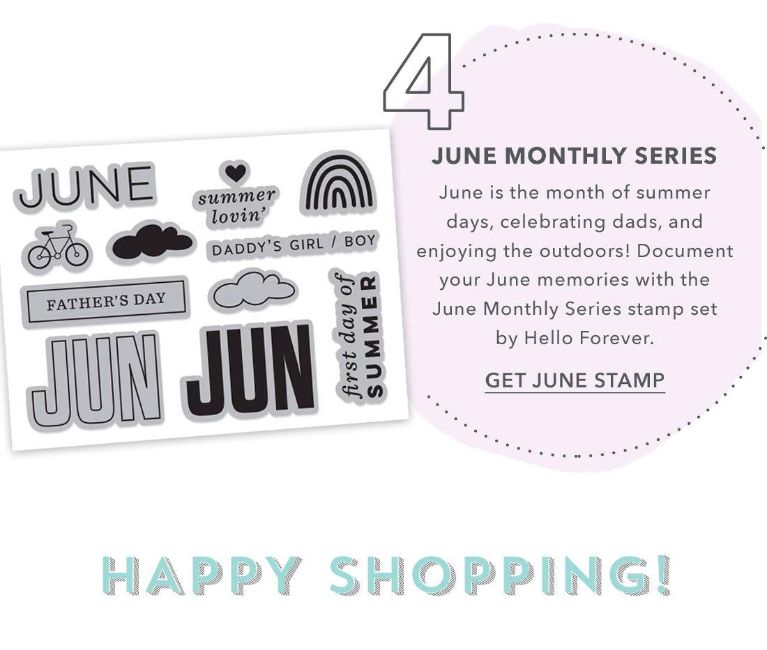 Get June Stamp