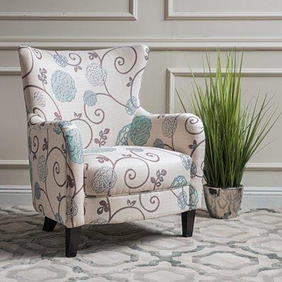 Venette Fabric Club Arm Chair