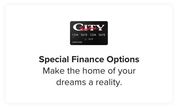 Special Financing Options. Make the home of your dreams a reality. Learn more.