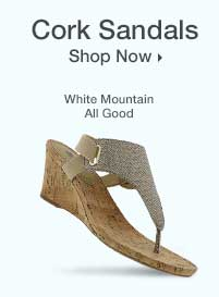 Shop Women's Cork Sandals