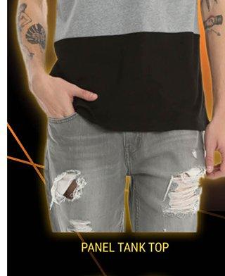 Panel Tank Top