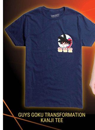 Goku Transformation Kanji Tee