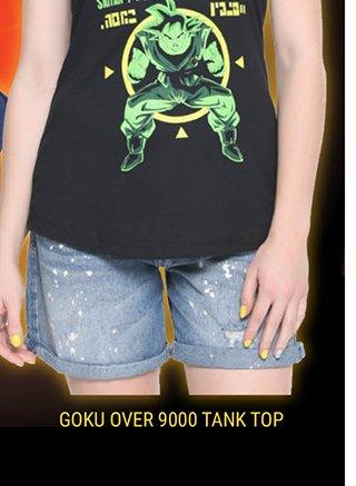 Goku Over 9000 Tank Top