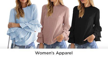 Womens Apparel/Mens apparel