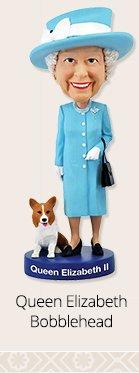 Queen Elizabeth Bobblehead