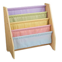 KidKraft - Sling Bookshelf Pastel - Brown