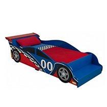 KidKraft - Racecar Toddler Bed - Red