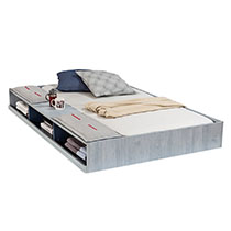 Cilek - Trio Pull Out Bed with Partition 90x190 cm