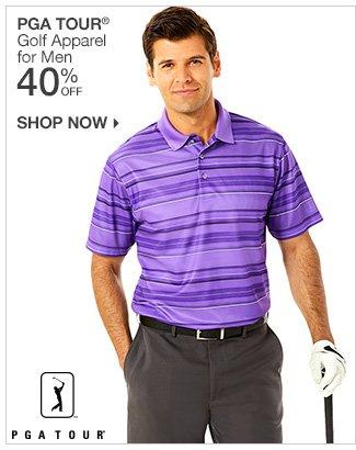 Shop 40% Off PGA TOUR for Men