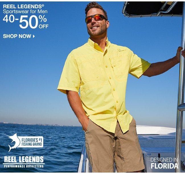 Shop 40-50% Off Reel Legends for Men