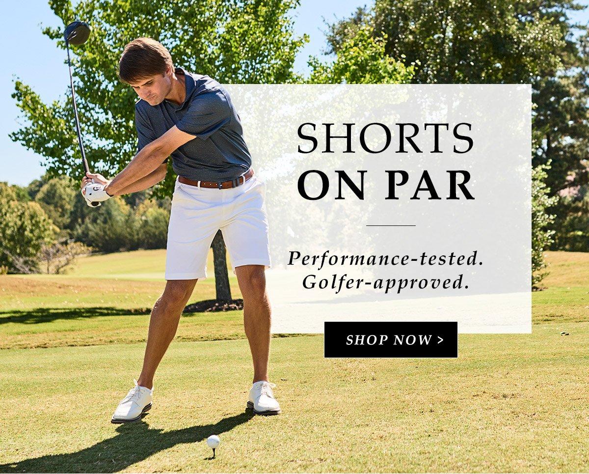 Shorts On Par | Shop Now