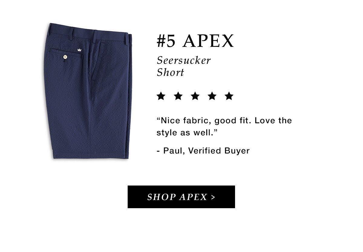 #5 Apex Seersucker Short
