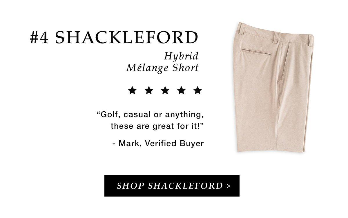 #4 Shackleford Hybrid Melange Short