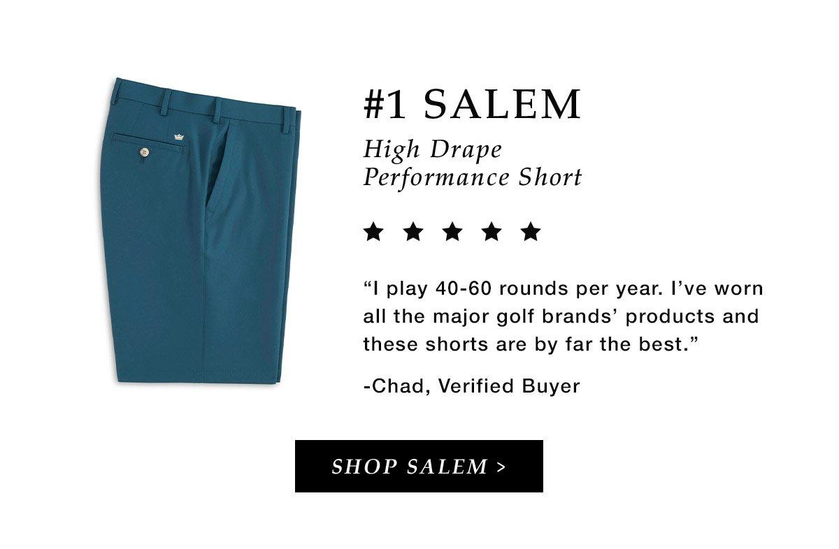 #1 Salem High Drape Performance Short