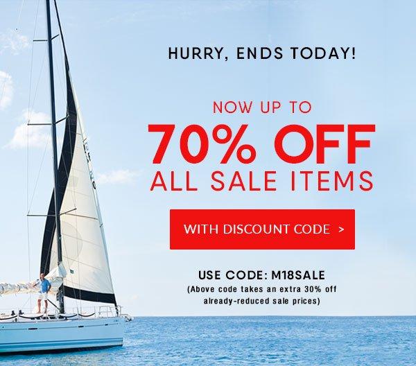 30% off Sale - use code M18SALE
