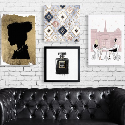 Free Shipping: Fashion-Forward Wall Art & Decor