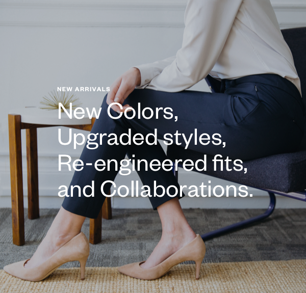 Designed from the waist down to fit throughout a full day of activity, Kinetic pants are made to be the most flattering pants in your closet. Resilient Japanese warp-knit Kinetic fabric gives unrivaled mobility in a trim silhouette, responds to your movements, and always bounces back.