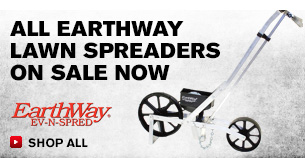 All Earthway Lawn Spreaders On Sale Now