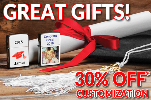 Great Gifts! 30% Off* Customization