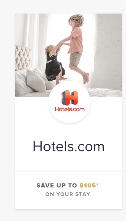 Hotels.com | SAVE UP TO $105
