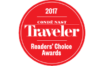 Cond Nast Traveler 2017 Reader's Choice