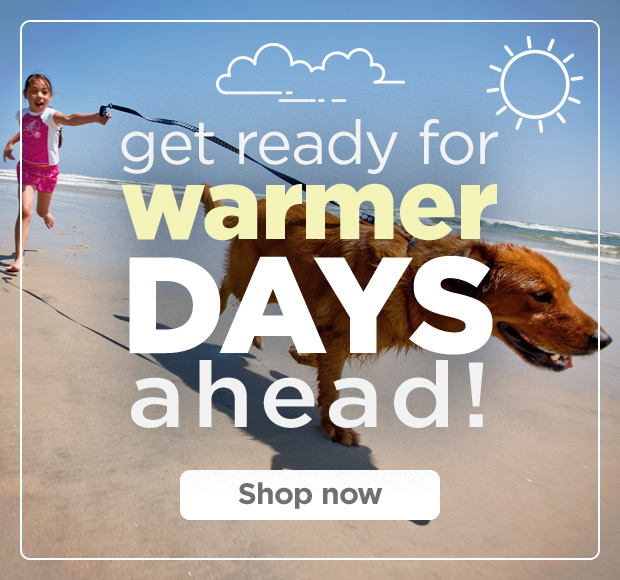 Get ready for warmer days ahead! Shop now.