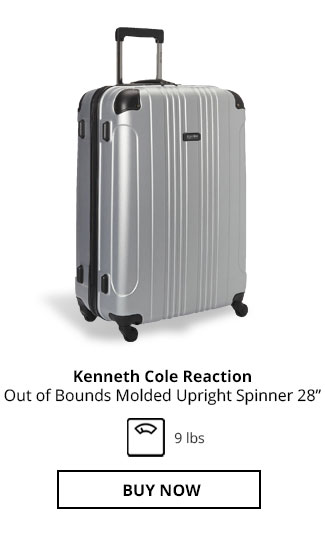 Kenneth Cole Reaction Out of Bounds Molded Upright Spinner 28in