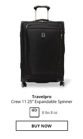 Travelpr Crew 11 25in Expandable Spinner