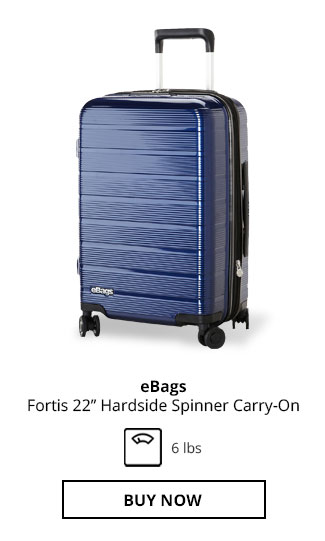 eBags Fortis 22in Hardside Spinner Carry-On