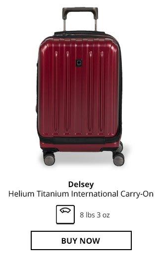 Delsey Helium Titanium International Carry-On