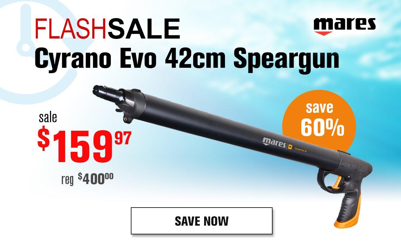 Flash Sale Mares Cyrano Speargun