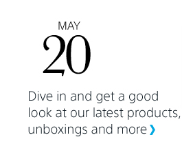 Dive in and get a good look at our latest products, unboxings and more