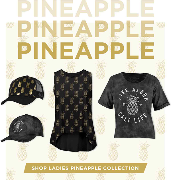 Shop Ladies Pineapple Collection.