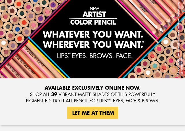 New! Artist Color Pencil. Shop Now.