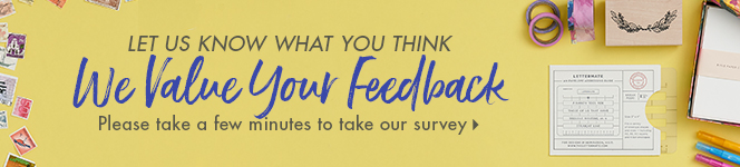 Let Us Know What You Think - We value Your Feedback