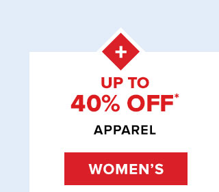 Up to 40% off*