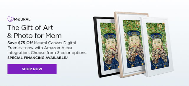 Save $75 on Meural Canvases