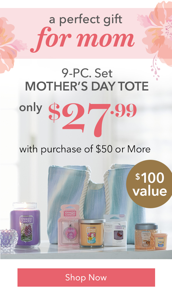 9-PC. Set - Mothers Day Tote