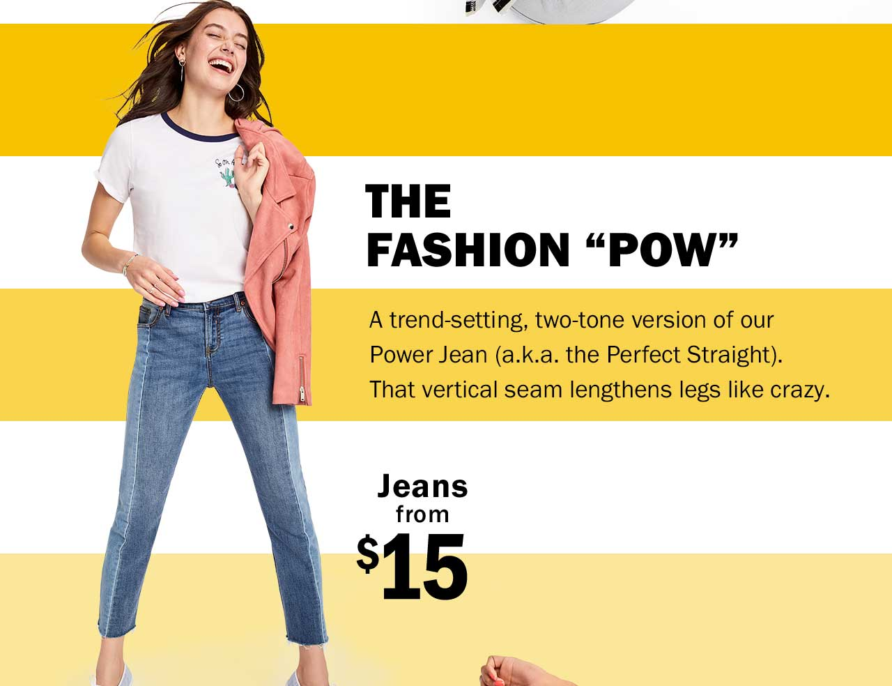 THE FASHION 'POW' | Jeans from $15