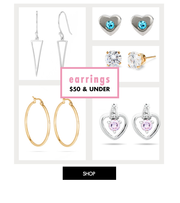 Earrings $50 and Under