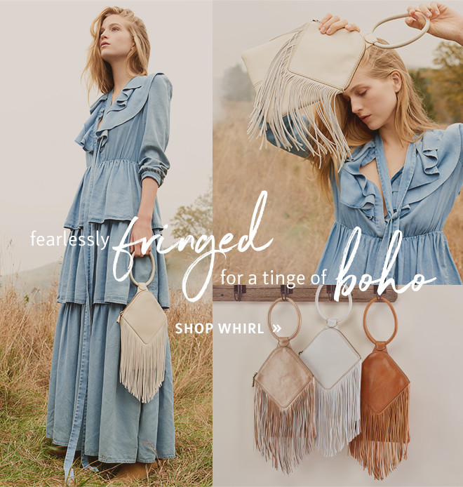 Fearlessly Fringed for a tinge of boho // Shop the Whirl!