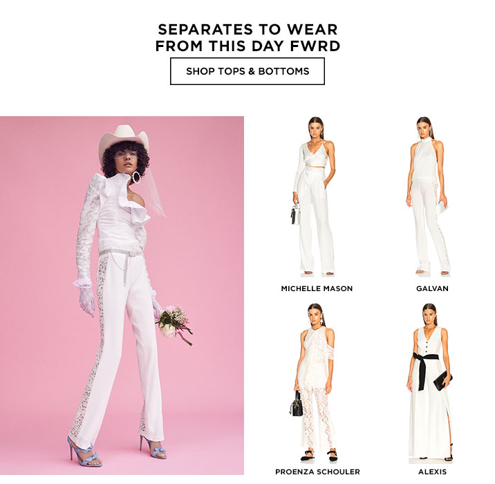Separates To Wear From This Day FWRD - Shop tops and bottoms