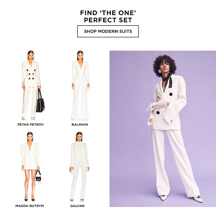 Find The One Perfect Set - Shop modern suits