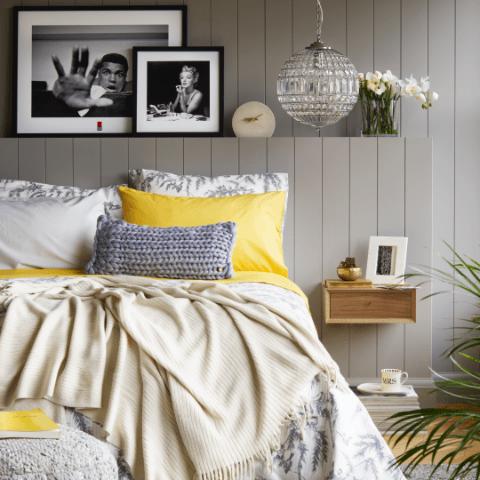 Yellow & Grey Trend