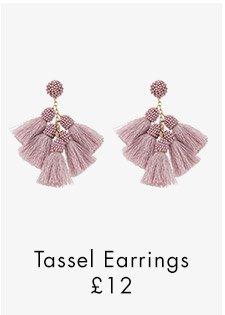 MULTI TASSEL EARRINGS
