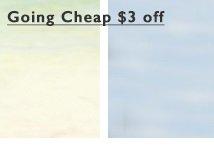 going cheap