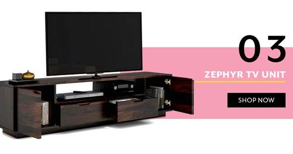 Zephyr TV Unit